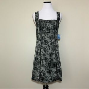 NWT Intimately Free People Dark Floral Mini Dress